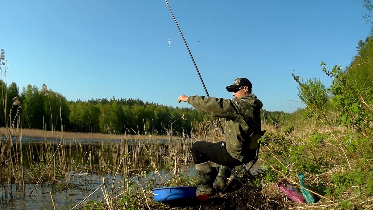 Месте рыбалка в незнакомом