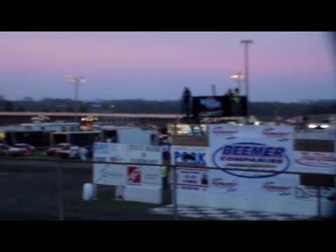 Hobby Stock Heat 3 @ Fairmont Raceway 04/08/17