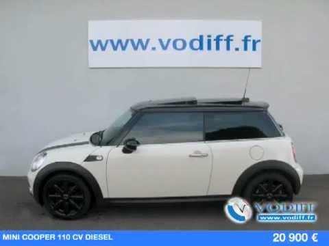 Vodiff Automobiles Alsace Mini Cooper 110 Cv Diesel Youtube
