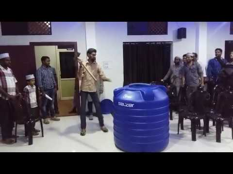 Selzer Unbreakable Watertank live demo @ Uppala, Kasaragod