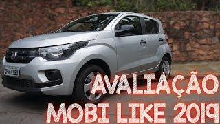 Avaliação Fiat Mobi Like 4 cilindros 2019 1.0