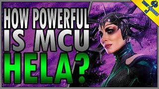How Powerful is MCU Hela?