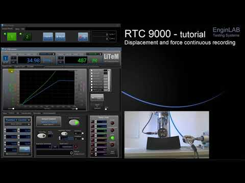 Test controller RTC 9000 Continuous recording tutorial