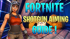 FORTNITE SHOTGUN TIPS AND TRICKS ! HOW TO HIT MORE SHOTGUN SHOTS IN FORTNITE ! (Fortnite console)