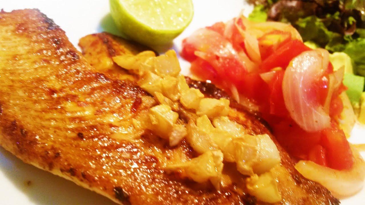 pescado facil de cocinar