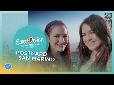Postcard of Jessika feat. Jenifer Brening from San Marino - Eurovision 2018