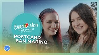 Postcard of Jessika feat. Jenifer Brening from San Marino - Eurovision 2018