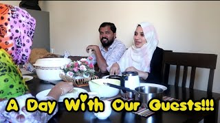 A Day With Our Guests!!!/Happy Moments/Bread Sandwich Recipe/Beef Biriyani Recipe/Chicken Fry Recipe