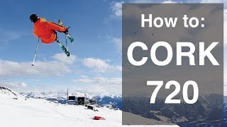 How to cork 720 on skis
