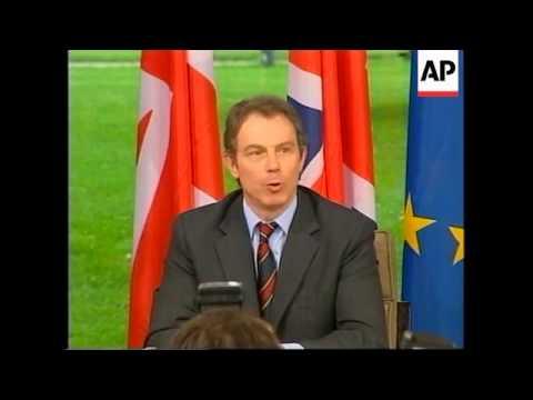 GERMANY: BONN: BRITISH PRIME MINISTER TONY BLAIR MEETS HELMUT KOHL