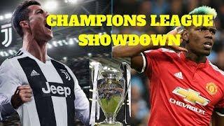 Champions League draw: Cristiano Ronaldo vs Pogba