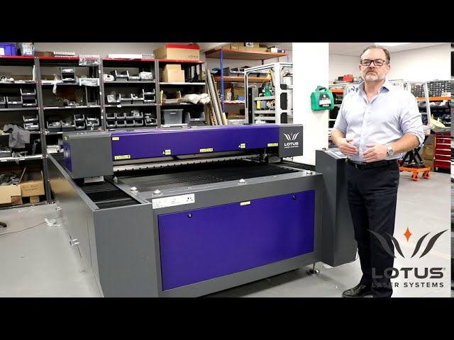 Lotus Laser Systems verbal overview of model Blu250