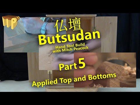 Butsudan Build Part 5 - Applied Top & Bottoms