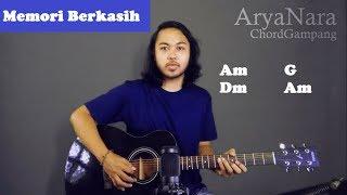 Download lagu Chord Gampang (Memori Berkasih - Achik Spin Siti Nordiana) Arya Nara (Tutorial Gitar) Untuk Pemula
