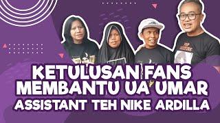 Penyerahan Donasi Buka Usaha untuk Ua Umar assistant teteh Nike Ardilla