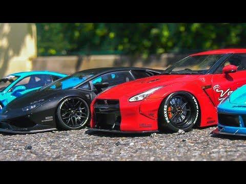 MEGA RC TRUCKS, MODEL CARS, RC TRACTORS, NISSAN GT-R, FERRARI, LAMBORGHINI, RC TANK!!