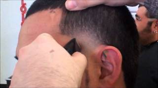 HOW TO DO A CLEAN LINE TAPER BY DANNY DA BARBER