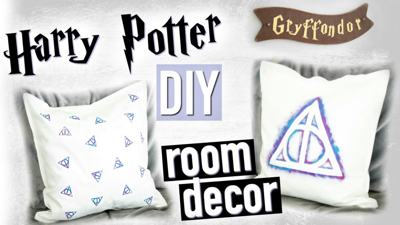 diy harry potter deco chambre room decor fran ais youtube. Black Bedroom Furniture Sets. Home Design Ideas