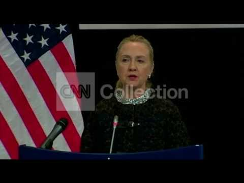 CLINTON ON EGYPT CLASHES:WE'RE WATCHING CLOSELY