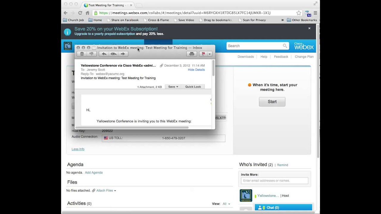 Webex Plugin For Outlook 2011 Mac - coachmars's diary