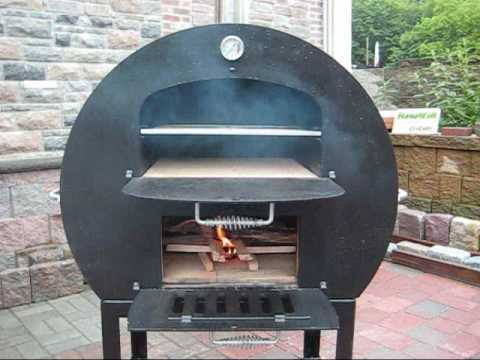QUINTESSENTIAL GALANTINO WOOD FIRED PIZZA OVEN - YouTube