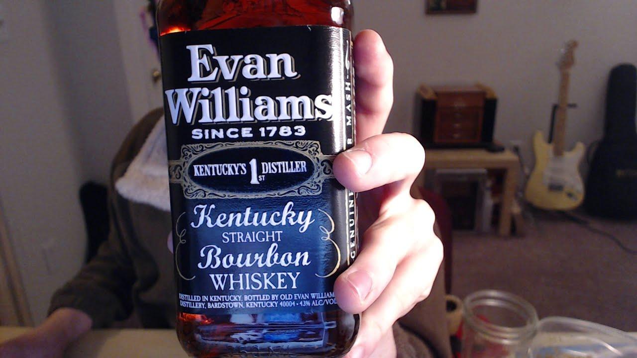 Виски Эван Вильямс цена 1 литра в Украине?
