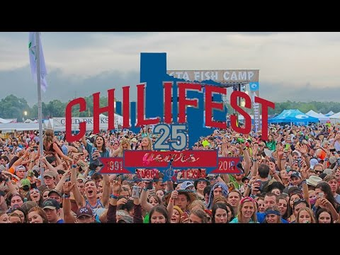 History Of Chilifest - Chilifest 2016 Texas Music Festival