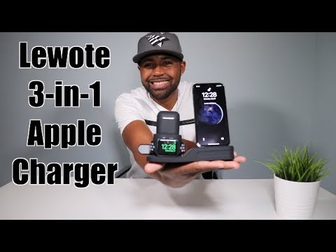 3 In 1 Apple Charging Station | Lewote Review