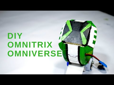 How to make Omnitrix  (Omniverse) with Paper and Eva Foam at home