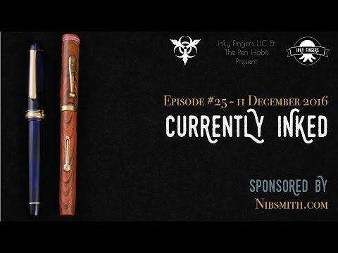 Currently Inked #25   11 December 2016
