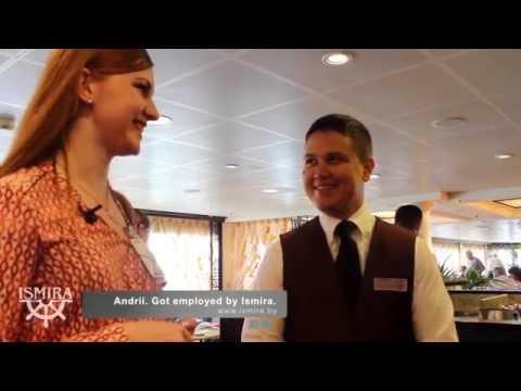 Исмира Беларусь на круизном лайнере встречаются с трудоустроенными клиентами.