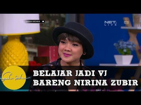 Belajar Jadi VJ dari Nirina Zubir