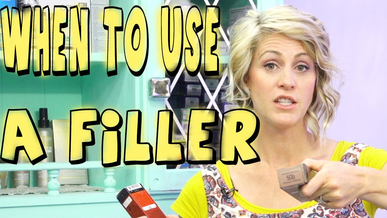 How To Use A Filler Youtube Tutorial Youtube