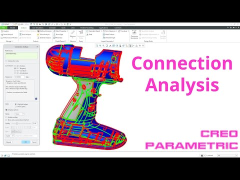 Creo Parametric - Connection Analysis Tool