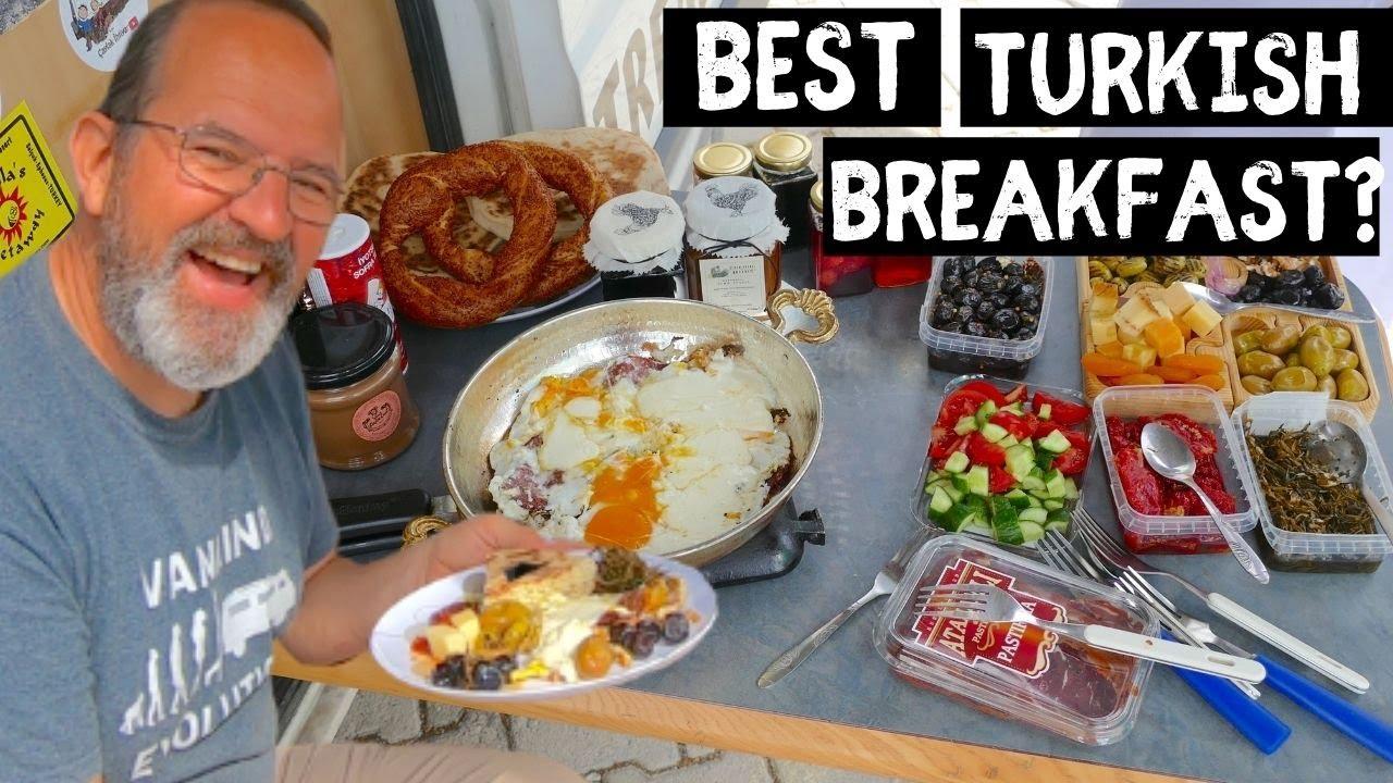 How to make AMAZING Turkish Breakfast Van Life Style ...