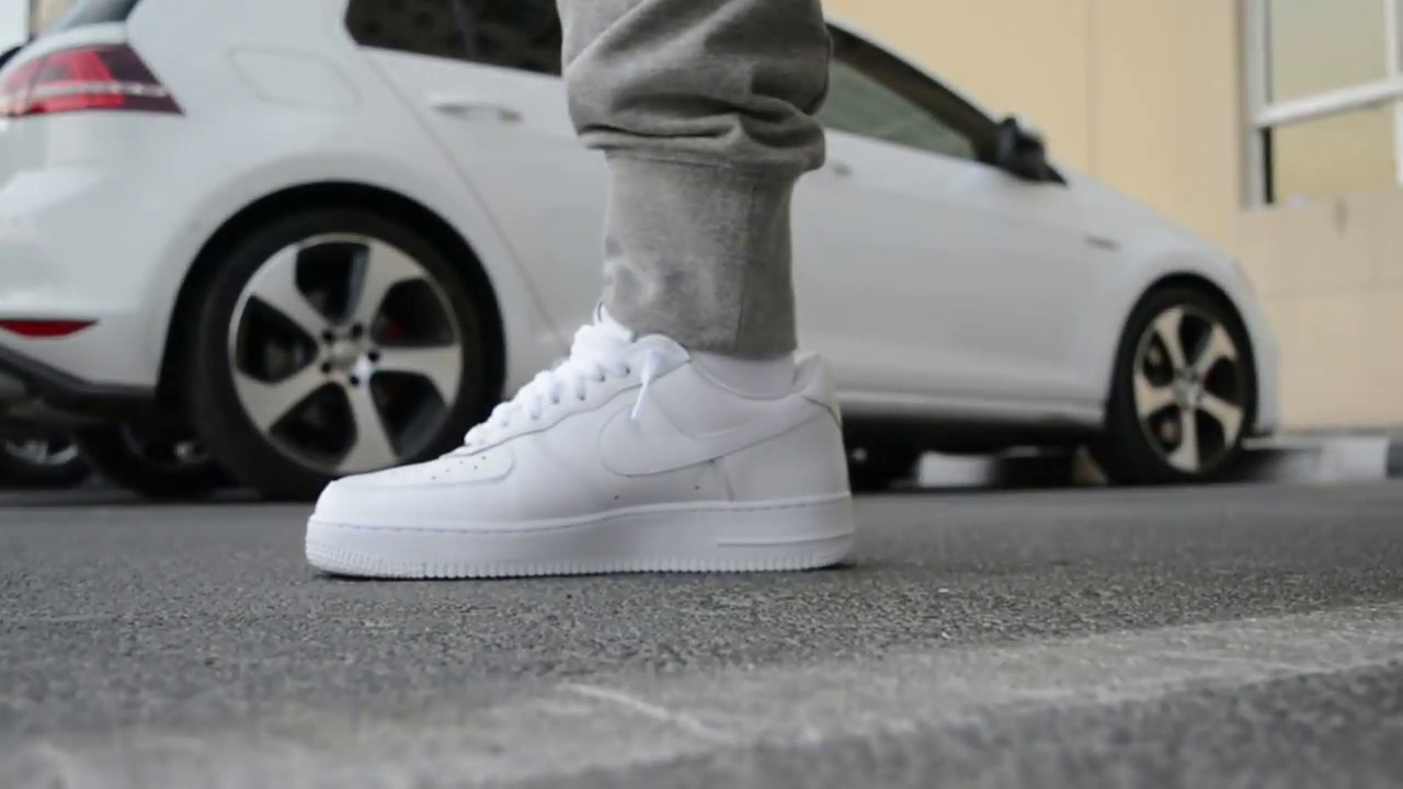 Nike Air Force 1 Rocafella (Triple White) Unboxing and On Feet + Amongst Few Dubai Pick Ups