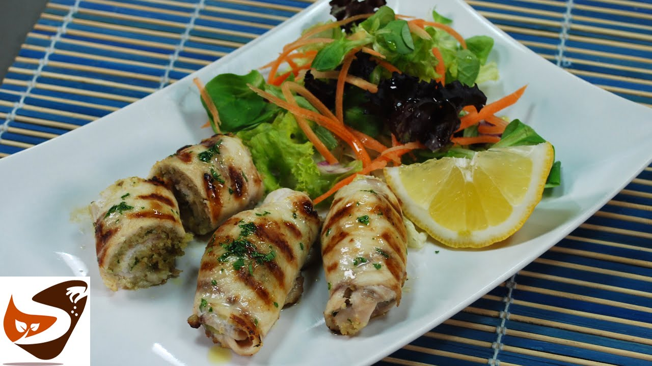 ... secondi piatti di pesce (sicilian stuffed swordfish rolls) - YouTube