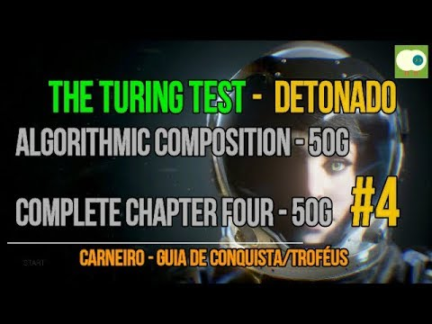 4 - The Turing test - Algorithmic composition - Complete chapter four - 100G