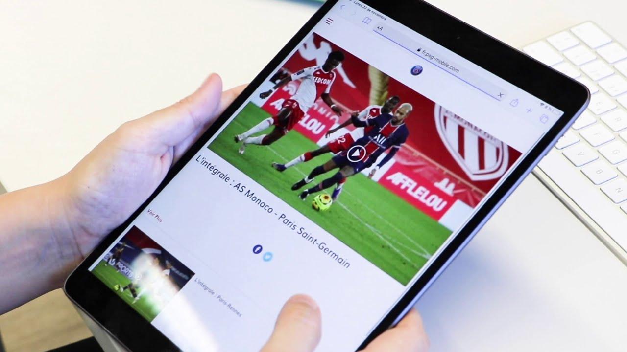 Vidéo contenu exclusif PSG - Telecoming