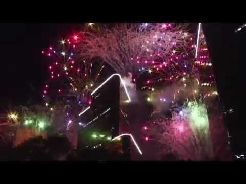 Uptown holiday lighting Houston Texas & Uptown holiday lighting Houston Texas - YouTube
