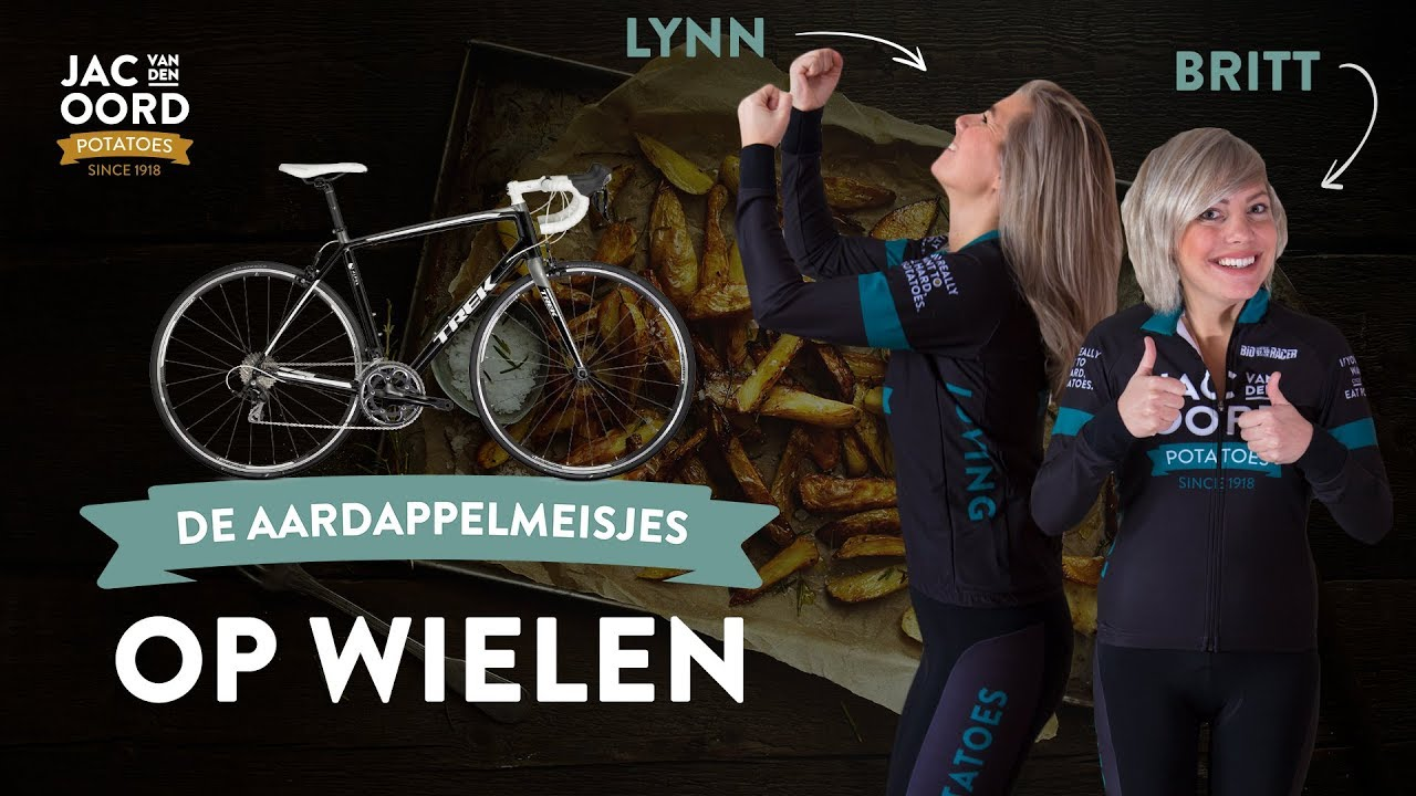Op Wielen: Tandem wielrenner