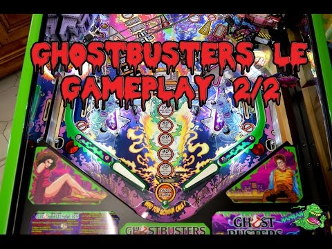 Ghostbusters LE Pinball Stern Gameplay Part 2/2
