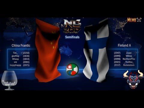 Nations Cup 2017, SICK SEMIFINAL China Frantic vs Finland A