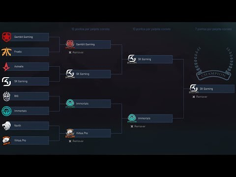 PGL Krakow Major 2017 - Pick 'Em Challenge - Playoffs