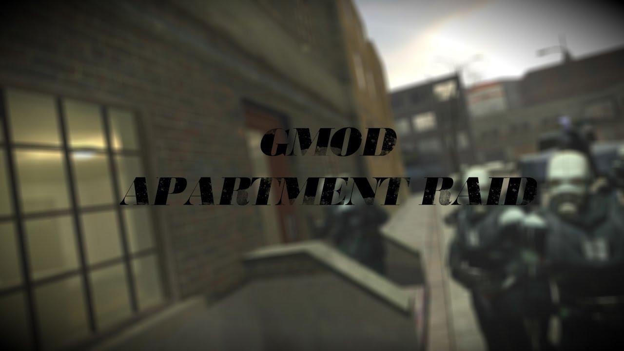 Apartment Raid Gmod Map