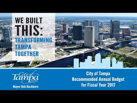 We Built This: Transforming Tampa Together_Fiscal Year 2017 Budget