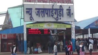 Outside of New Jalpaiguri Railway Station