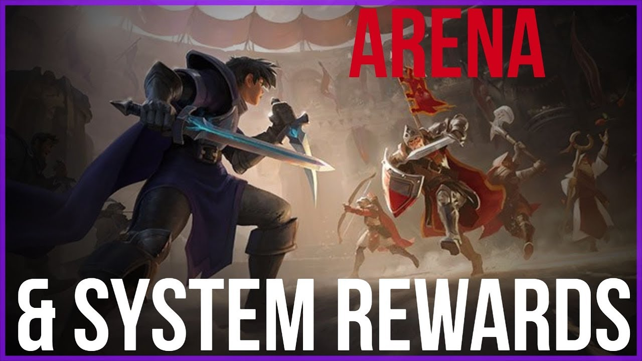 Albion Online- Arena Testing & Reward System (Healer POV)