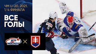 03 01 2021 США U 20 Словакия U 20 5 2 Все голы 1 4 финала ЧМ U 20