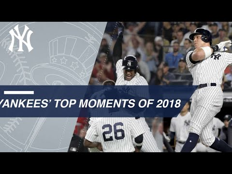 Yankees top 2018 moments